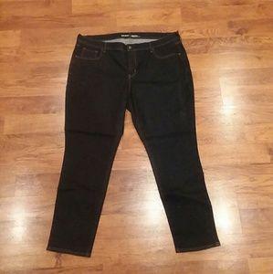Old Navy Jeans - Old Navy Dark wash Skinny Jeans Size 18 Short